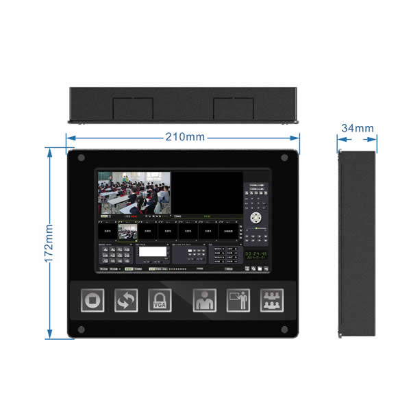WD-OL-ZK750A监视控制面板